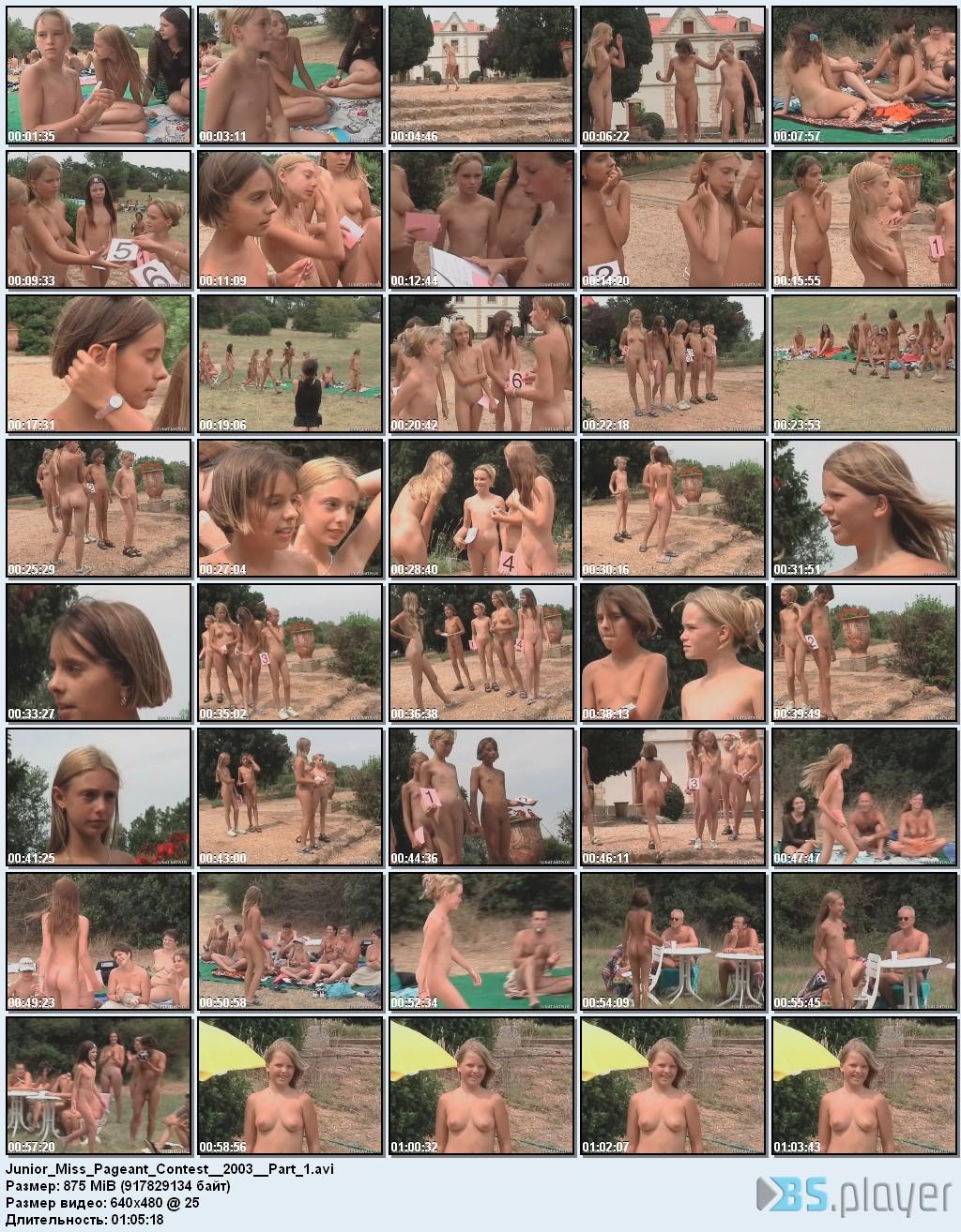 Fucking dream!!! junior beauty contest nudism vids